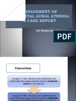 Ppt Management of Congenital Aural Atresia