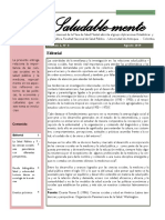 Boletín N°8 de la mesa de salud mental de la FNSP-UdeA