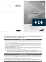 Samsung UE-40C6500 User Manual