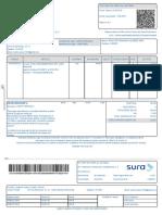 Factura Plan Complementario EPS SURA