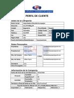 Perfil de Cliente 2019