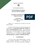 sentencia Corte suprema sala laboral colombia