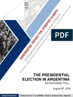 The Presidential Election in Argentina %28august 2019%29