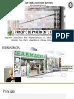 Pareto Farmacia Hospitalaria 2019-2