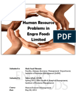 HR Term Report on EFL