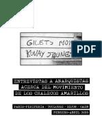 Entrevista a anarquistas acerca del movimiento de los chalecos amarillos