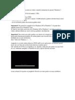 Pentru Inceput Ar Trebui Sa Aveti in Vedere Cerintele Sistemului de Operare Windows 7