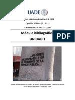 UADE Opinion publica.