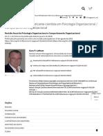 Perspectivas de Um Praticante-cientista Em Psicologia Organizacional _ Comportamento Organizacional _ Revisão Anual Da Psicologia Organizacional e Comportamento Organizacional
