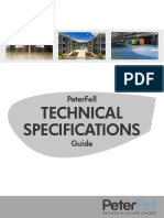 PeterFell Technical Specifications Guide