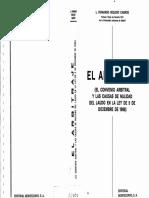 El Arbitraje - Convenio y Nulidad (Fernando Reglero Campos)