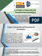 1.1 Origen y Desarrollo de La Gestion Estrategica