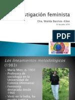 Investigación Feminista