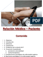 relacion medico paciente , bioetica