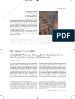 Art History Reviewed X Francis Haskell P