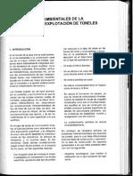 ASPECTOS MEDIOAMBIENTALES TUNELES