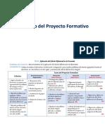 Proyecto Formativo 2