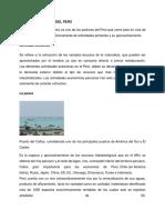 Sector Extractivo Del Perú