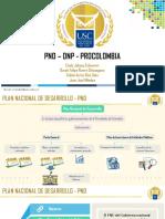 DNP - PND - PROCOLOLOMBIA