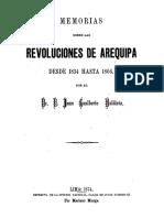 Memorias Sobre Las Revoluciones