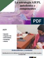 2. La Estrategia AIEPI Antecedentes Componentes