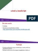 JavaScript Uvod Funkcije 7n4