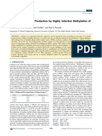 Process of p-xylene production by highly selective methylation of toluene.pdf