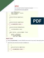 Java excepcion