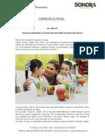 26-08-19 Arranca  Gobernadora Ciclo Escolar 2019 - 2020 de educación básica