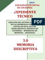 3.0 Memoria Descriptiva