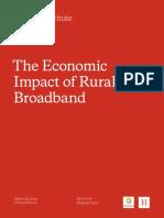 Economic impact of rural