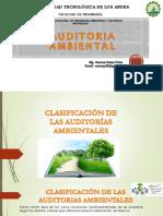 Clasificación de Las Auditorías Ambientales