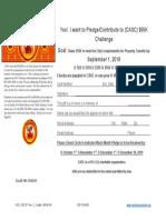 Pledge Card CC