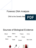Crime Scene Forensic DNA