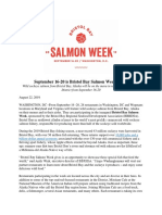 Bristol Bay Salmon Week press release