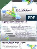 DNA Helix Strand