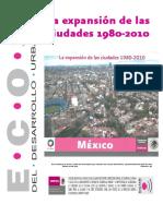 La Expansion de Las Ciudades 1980-2010