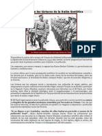 La deportación de los tártaros de la Unión Soviética