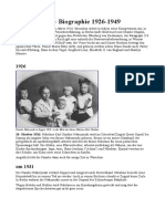 Klaus Kinski - Biographie 1926-1949