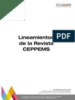Lineamientos Revista Electrónica Ceppems