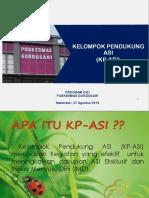 Sosialisasi KP ASI