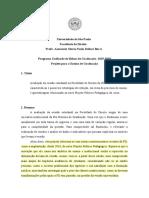 Projeto PUB - Avaliação da evasão estudantil na FD-USP 2019/2020
