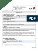 Plano de Ensino de Inglês Instrumental I.doc