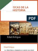 Épocas de La Historia (1)