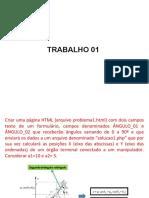 Trabalho(HTML Php)