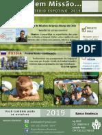 projeto esportivo 2019