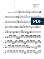To Negate to Negate Drum Score