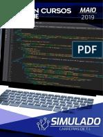 Simulado Carreiras TI (maio) - Com Folha de respostas Maio 2019.pdf