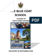 A Guide to Sixth Form Courses