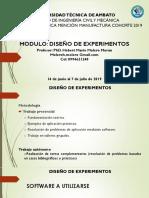 Clase I Diseño de Experimentos